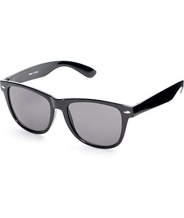 Empyre Rane Shiny Black Classic Sunglasses