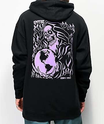 Empyre Reaper Globe Black & Purple Hoodie