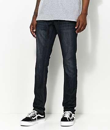 Empyre Recoil Nemo súper skinny jeans en azul oscuro