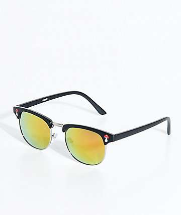 Empyre Retro Shroom Revo Red Sunglasses