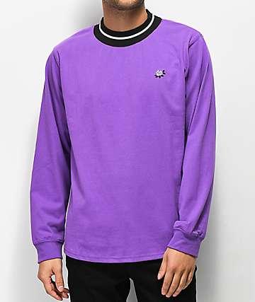 Empyre Ringer camiseta manga larga morada