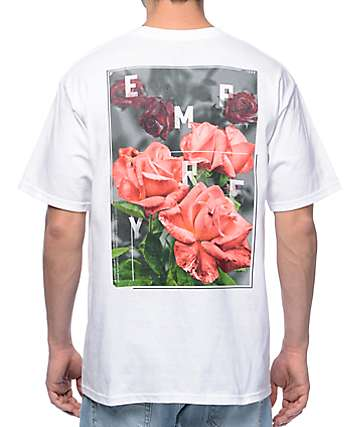 Empyre Rose Garden White T-Shirt