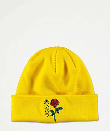 Empyre Rose Yellow Beanie