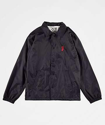 Empyre Rose chaqueta entrenador negra para niños
