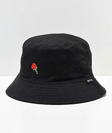 7486f799521 Empyre Rozay Black Bucket Hat
