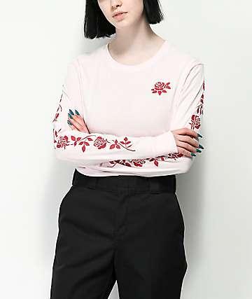 Empyre Rubino Rose Pink Long Sleeve T-Shirt