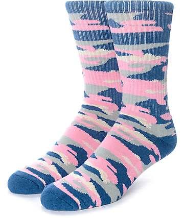 Empyre Run It calcetines camuflados en colores pastel