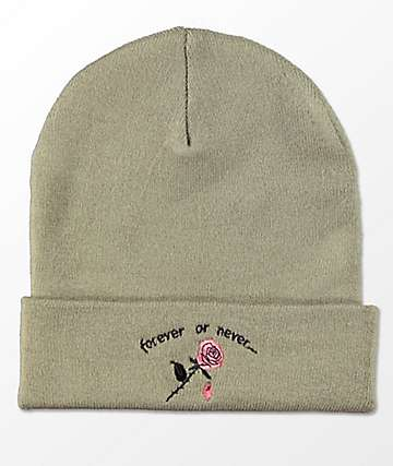 Empyre Ryan Forever Or Never Olive Beanie