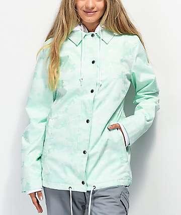 Empyre School Yard Mint Camo 10K Snowboard Jacket