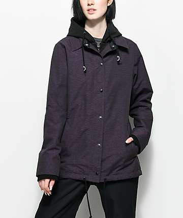 Empyre School Yard Purple 10K Snowboard Jacket
