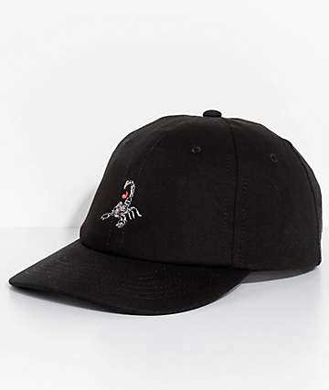 Empyre Scorpion gorra béisbol en negro