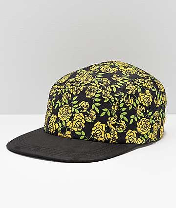 Empyre Secret Garden gorra floral amarilla