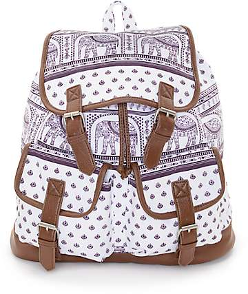 Empyre Serene Elephant Rucksack Backpack