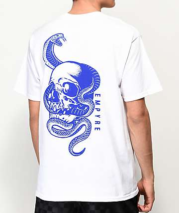 Empyre Serpents White T-Shirt