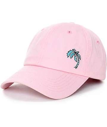 Empyre Shady Palm Tree gorra béisbol en rosa