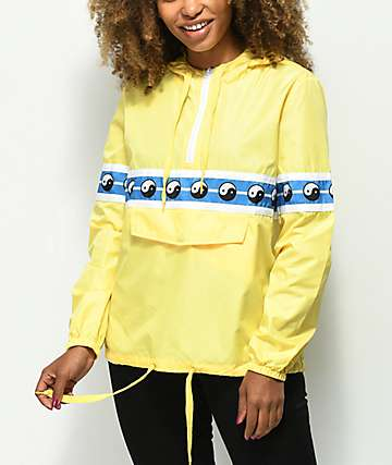 Empyre Shaylyn Yin Yang Yellow Anorak Jacket