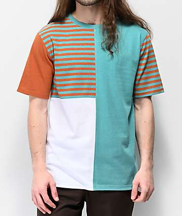 df830adf4 Empyre Skeeter Blocked & Striped Knit T-Shirt