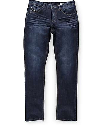 Empyre Skeletor Aged Raw Skinny Fit Jeans