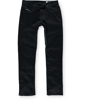 Empyre Skeletor Black Bedford Skinny Fit Pants