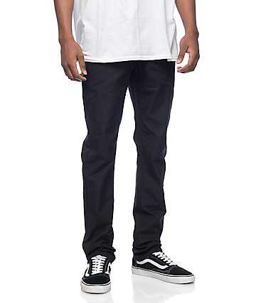 Empyre Skeletor Black Canvas Chino Pants