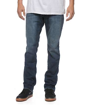 Empyre Skeletor Coastal Blue Skinny Fit Jeans
