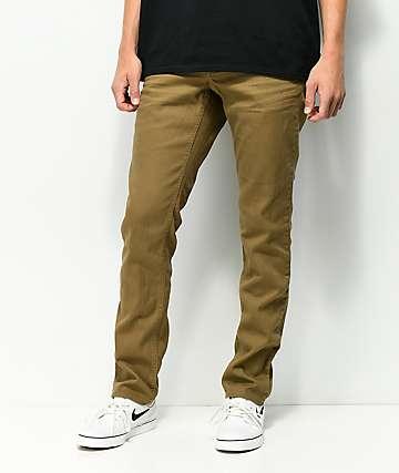 Empyre Skeletor Driftwood jeans ajustados marrones