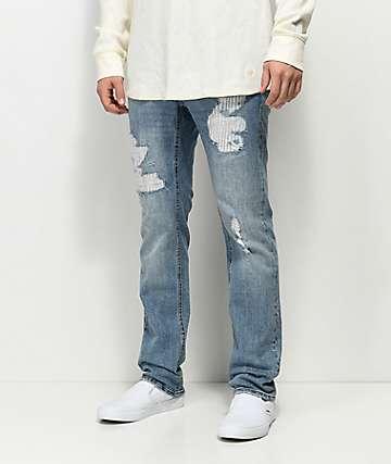 Empyre Skeletor Vila Rip & Repaired jeans rasgados y reparados