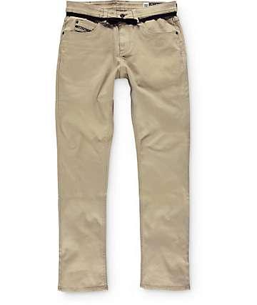 Empyre Skeletor pantalones caquis skinny