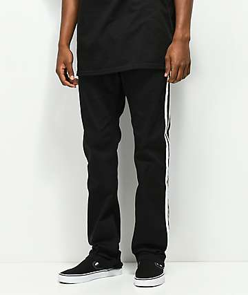 Empyre Sledgehammer Stripe Black Pants