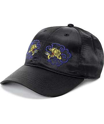Empyre Slick Black Nylon Baseball Hat