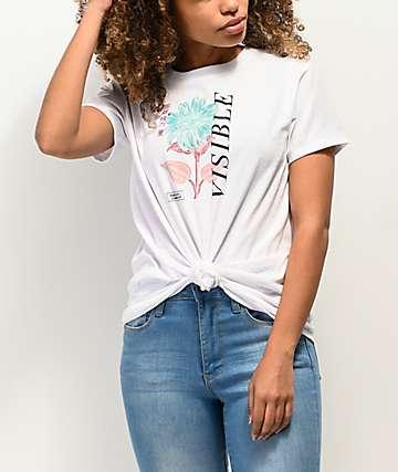 Empyre Sloane Visible camiseta blanca anudada