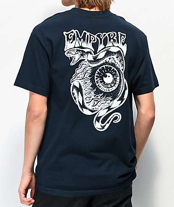 Empyre Snake Eye Navy T-Shirt