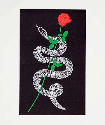 Empyre Snake Rose Sticker