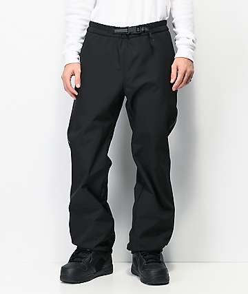 Empyre Softy Reflective & Black 10K Snowboard Pants
