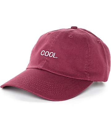 Empyre Solstice Cool Burgundy Baseball Hat
