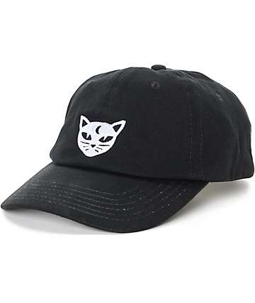 Empyre Solstice Mystical Cat Black Baseball Hat