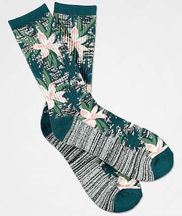 Empyre Space Vines Jacquard Crew Socks
