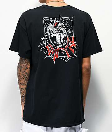Empyre Spider Web Black T-Shirt