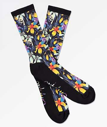 Empyre Spruced Floral Crew Socks