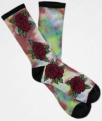 Empyre Stem Tie Dye Crew Socks