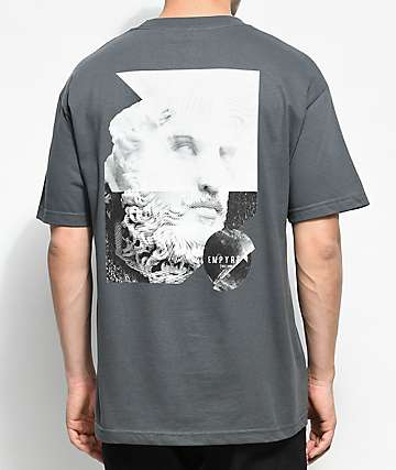 Empyre Stone Gaze Charcoal T-Shirt