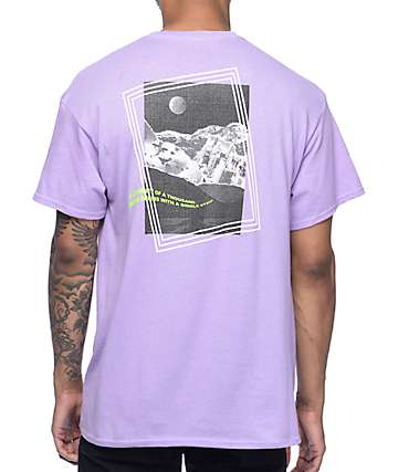 Empyre Strange Wave camiseta en morado