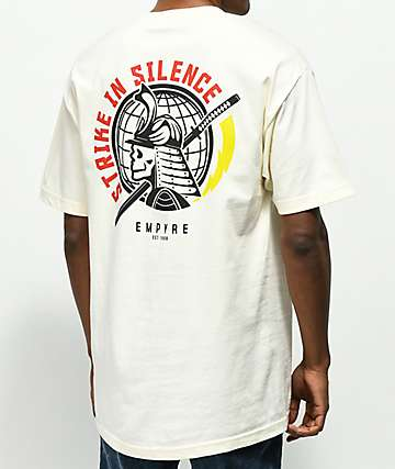 Empyre Strike In Silence Cream T-Shirt
