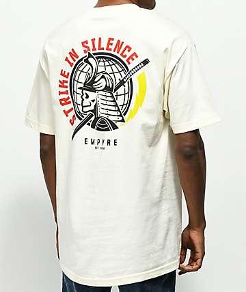 Empyre Strike In Silence Cream T-Shirt