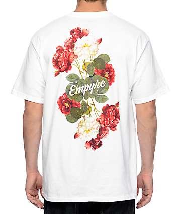 Empyre Summer Floral camiseta blanca