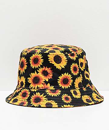 e2d142764e8de4 Empyre Sunflower Black Bucket Hat