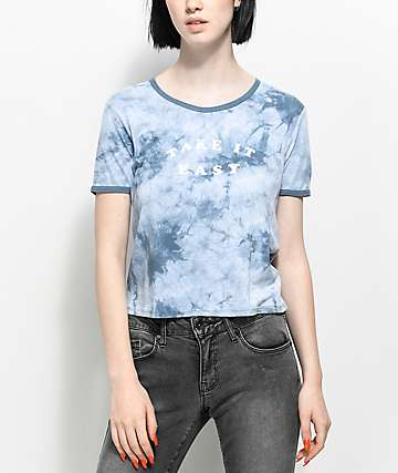 Empyre Take It Easy Blue Tie Dye T-Shirt