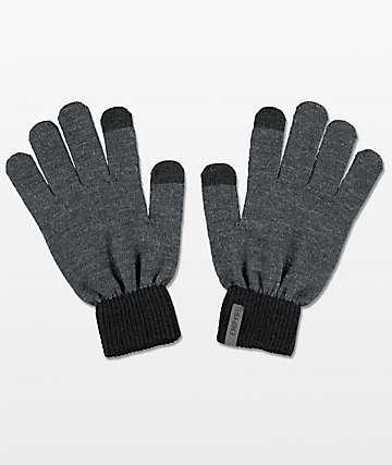 Empyre Techy Grey Knit Gloves