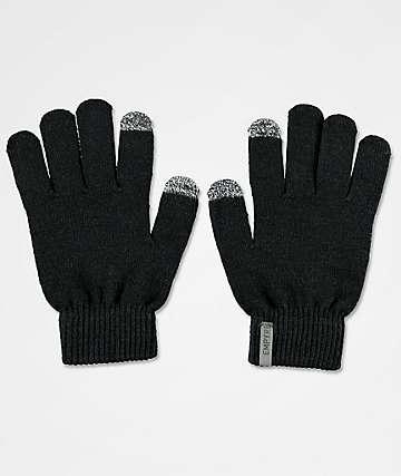 Empyre Techy Tachy Black Knit Gloves