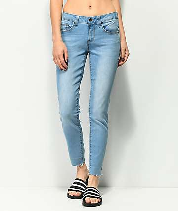 Empyre Tessa Azure Light Wash Skinny Jeans